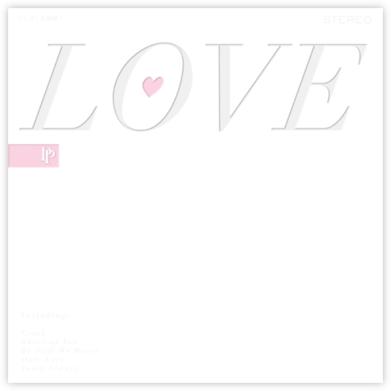 Love Album - Paperless Post
