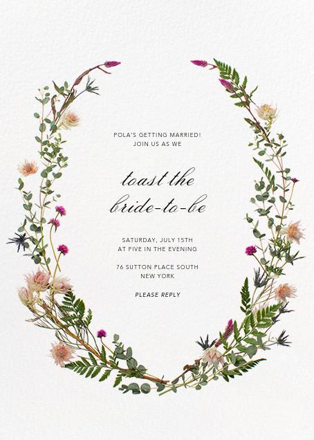 Bridal shower invitations Paperless Post