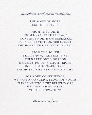 Forsythia (Invitation) - Navy - Paperless Post - All - insert front