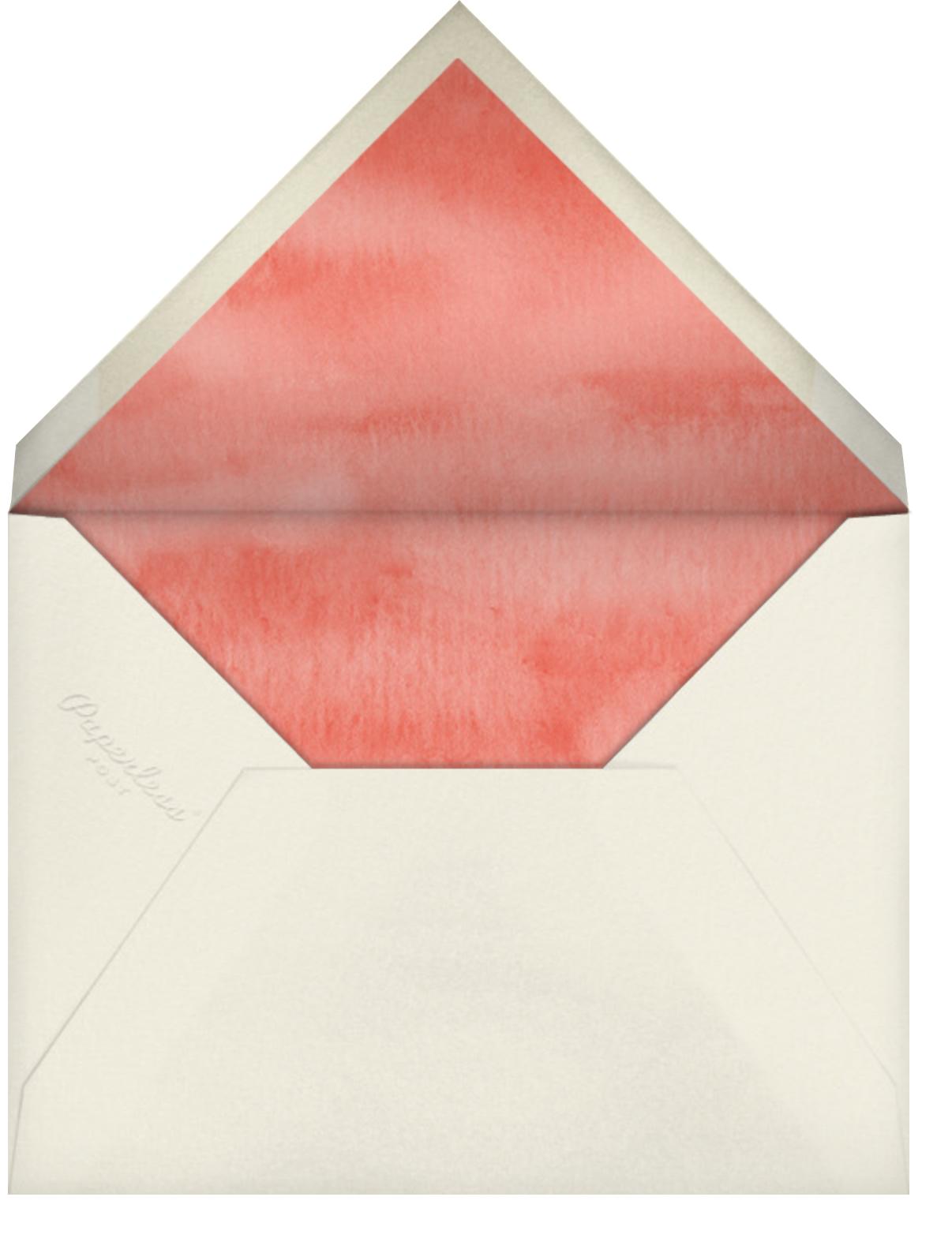 Autumn Boughs (Stationery) - Felix Doolittle - Personalized stationery - envelope back