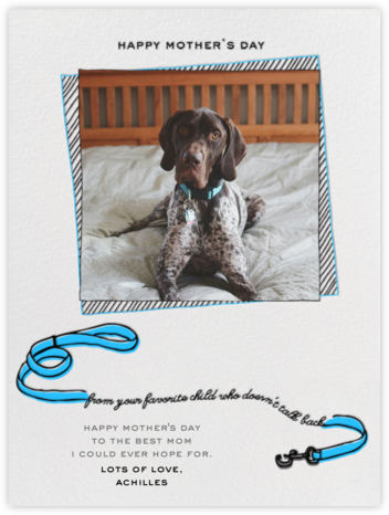 Your Favorite Child - Blue - Paperless Post - Mother's Day Cards