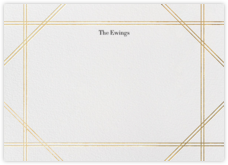 Caning (Stationery) - Gold