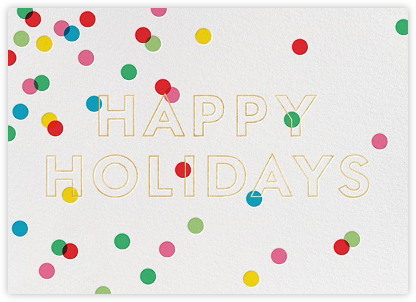Holiday Baronial - kate spade new york - Company holiday cards