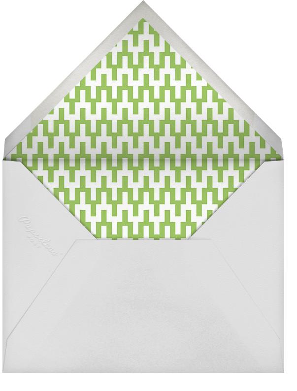 On the Rocks (Greeting) - Green - Jonathan Adler - Birthday - envelope back