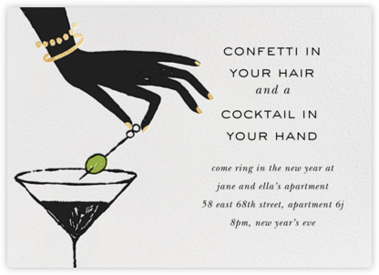 Cocktail in Hand - kate spade new york -