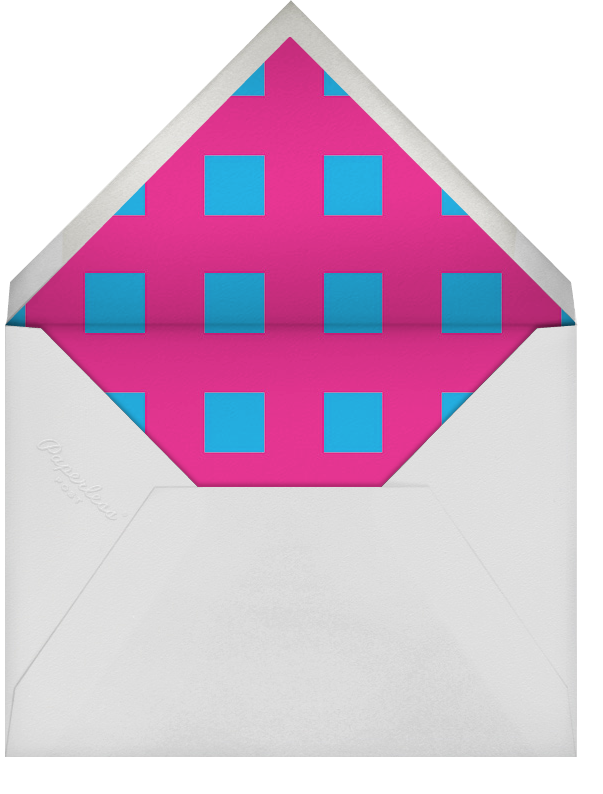 One and Two - Pink and Blue - Paperless Post - Birth - envelope back
