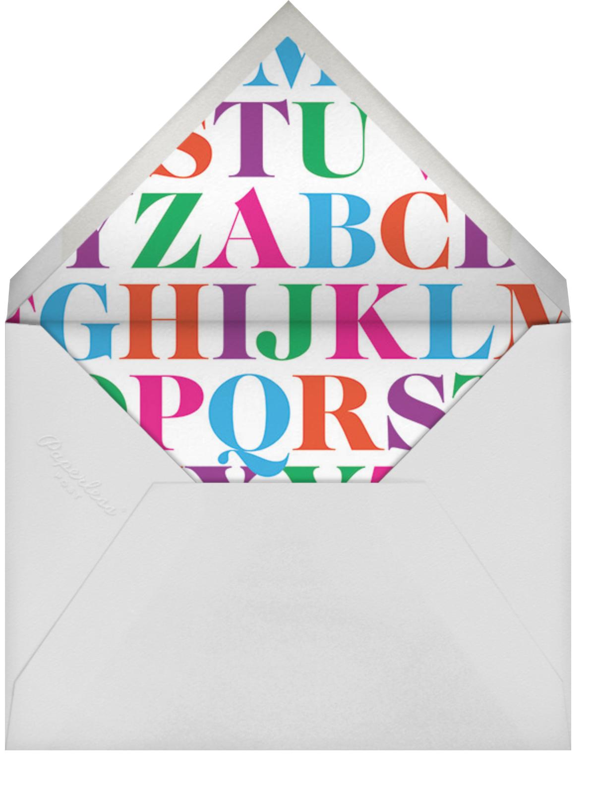 Baby Band (Multi-Photo) - Paperless Post - Envelope