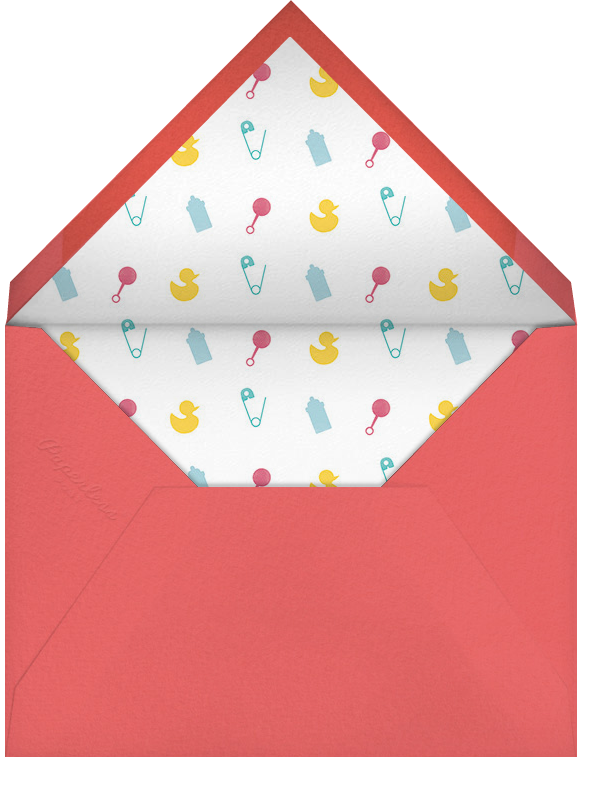 Newborn News - Paperless Post - Envelope