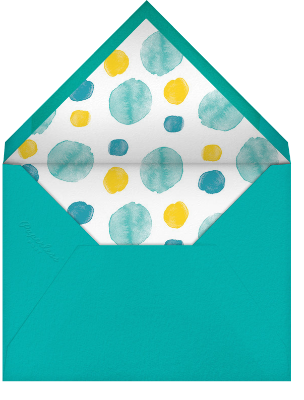 Shake, Rattle, and Roll - Blue - Paperless Post - Birth - envelope back