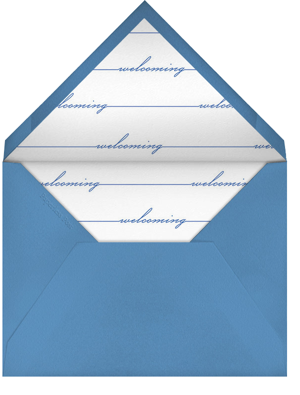 Welcome Home (Photo) - Blue - Paperless Post - Envelope