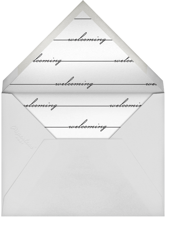 Welcome Window - White - Paperless Post - Birth - envelope back