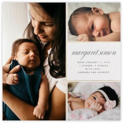 Album - Paperless Post - Birth Announcements