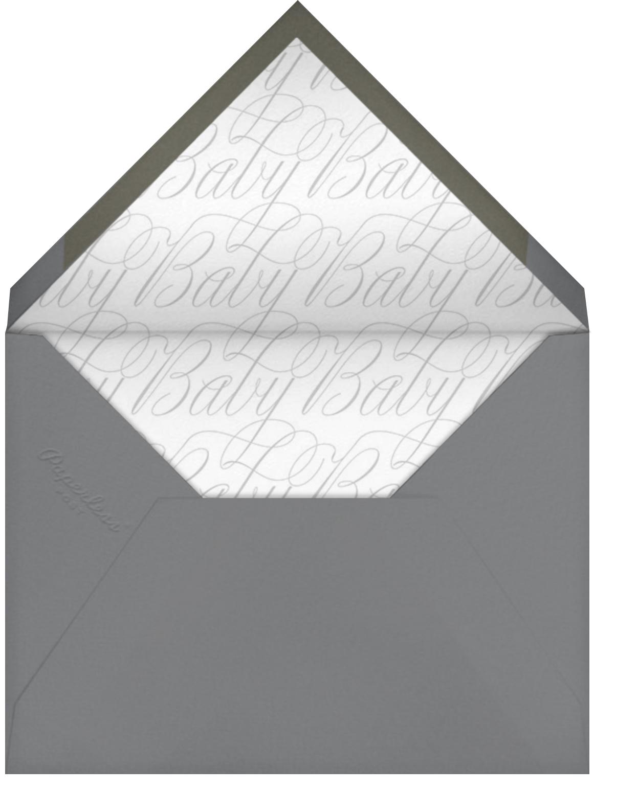 Album - Gray - Paperless Post - Envelope