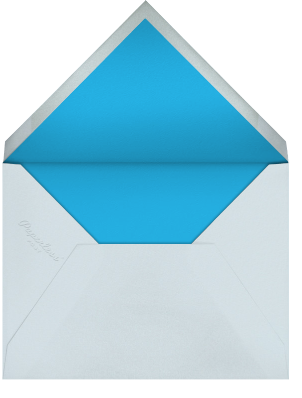 First Look - Blue - Paperless Post - Birth - envelope back