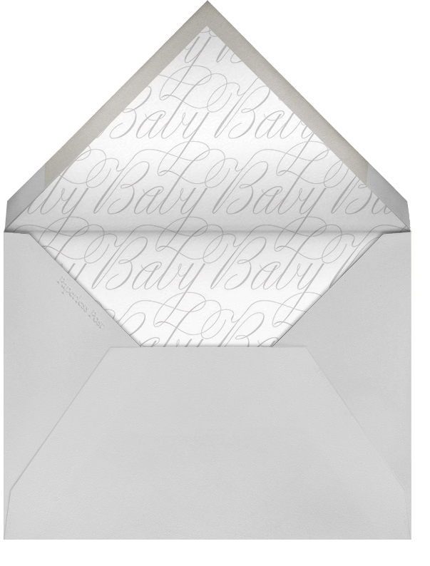 Double Take - Paperless Post - Birth - envelope back