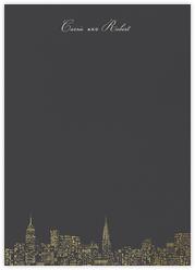 City Lights II (Stationery) - Slate/Gold