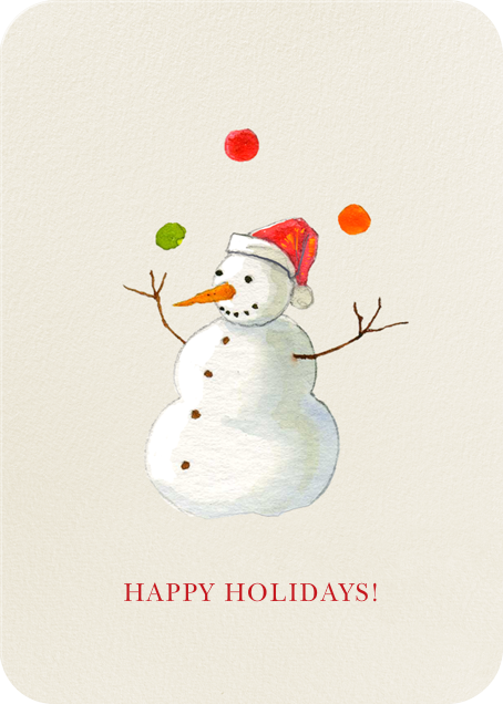 Juggle All the Way - Felix Doolittle - Holiday cards