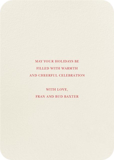 Juggle All the Way - Felix Doolittle - Company holiday cards - card back