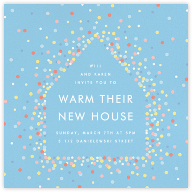 House of Sparks - Blue - Paperless Post -