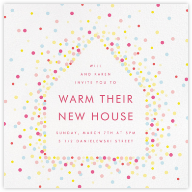 House of Sparks - White - Paperless Post - Housewarming party invitations