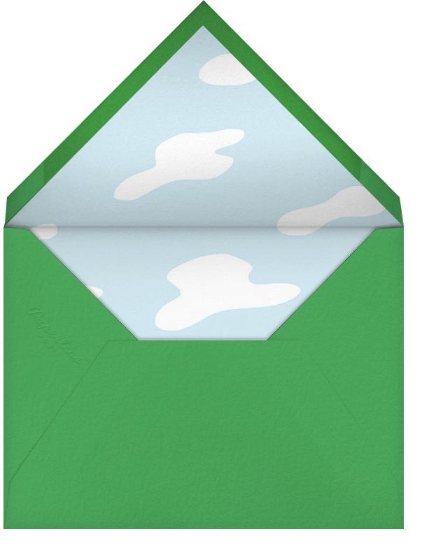 This Suburban Life - Green - Paperless Post - Envelope