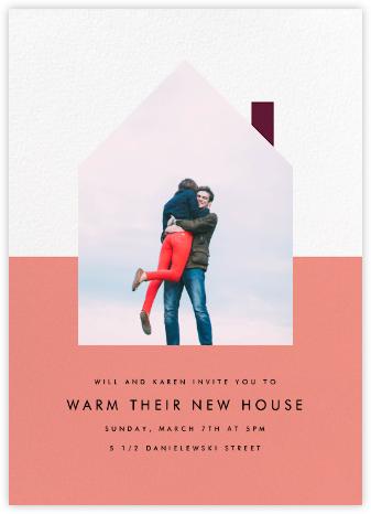 New House on the Block - Papaya - Paperless Post -