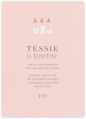 Baby Bottles - Meringue - Paperless Post -