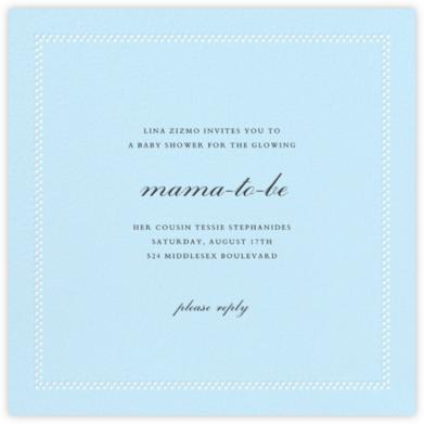 Uneven Dots - Glacier - Paperless Post - Celebration invitations