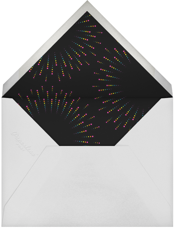 Burst Forth (Square) - Paperless Post - Bonfire Night - envelope back