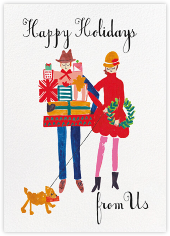 Darling, Can You Please Hold This - Fair - Mr. Boddington's Studio - Holiday Cards