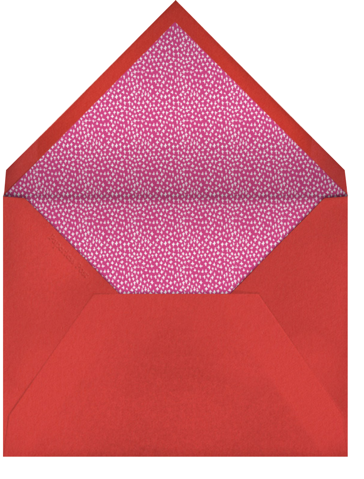 One Big Happy Family - Mr. Boddington's Studio - Holiday cards - envelope back