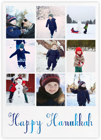 One Big Happy Hanukkah - Mr. Boddington's Studio - Hanukkah photo cards