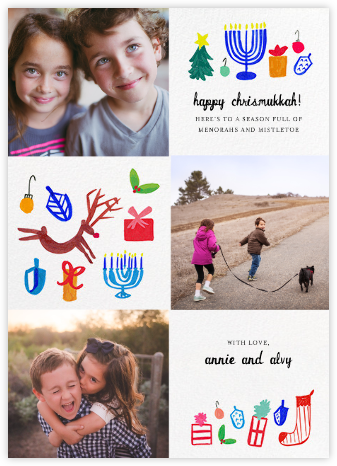 Tis All the Seasons - Mr. Boddington's Studio - Hanukkah photo cards
