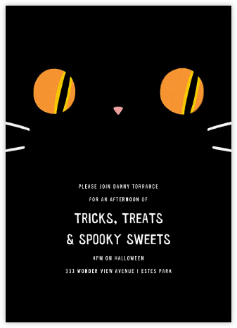 Got Your Tongue - Paperless Post - Halloween invitations