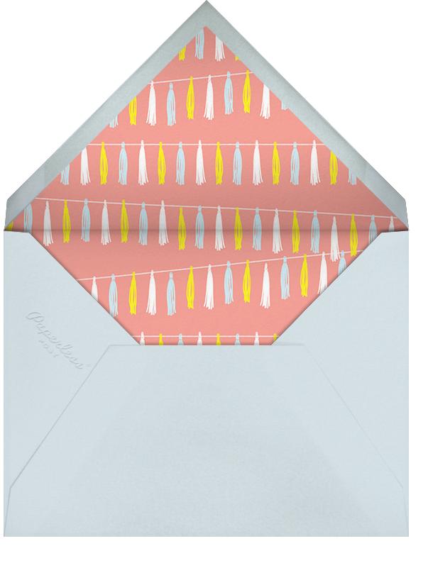 Tasseled II - Multi - Paperless Post - Baby shower - envelope back
