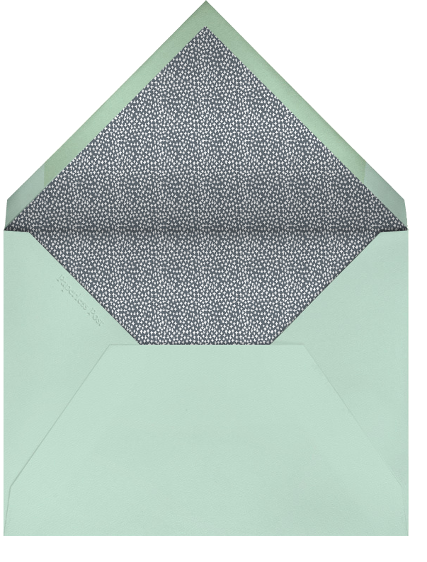 Laurel in Love - Sea Green - Mr. Boddington's Studio - Baby shower - envelope back