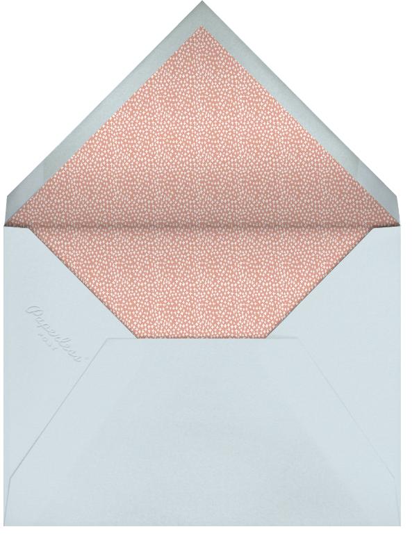 Laurel in Love - Powder - Mr. Boddington's Studio - Baby shower - envelope back