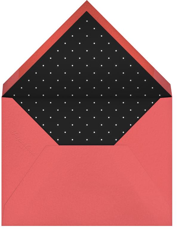 Manhattan Skyline View - White/Black - Paperless Post - General entertaining - envelope back