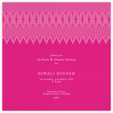 Mehndi - Pink - Paperless Post