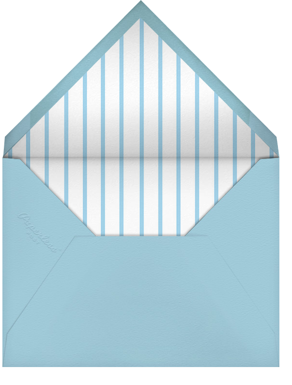 Tasseled II - Blue - Paperless Post - Baby shower - envelope back