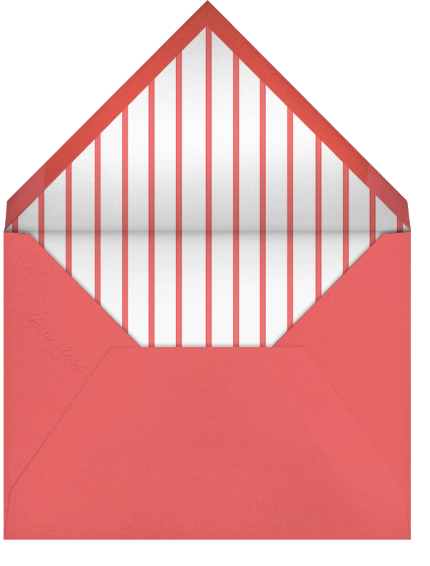 Tasseled II - Pink - Paperless Post - Baby shower - envelope back