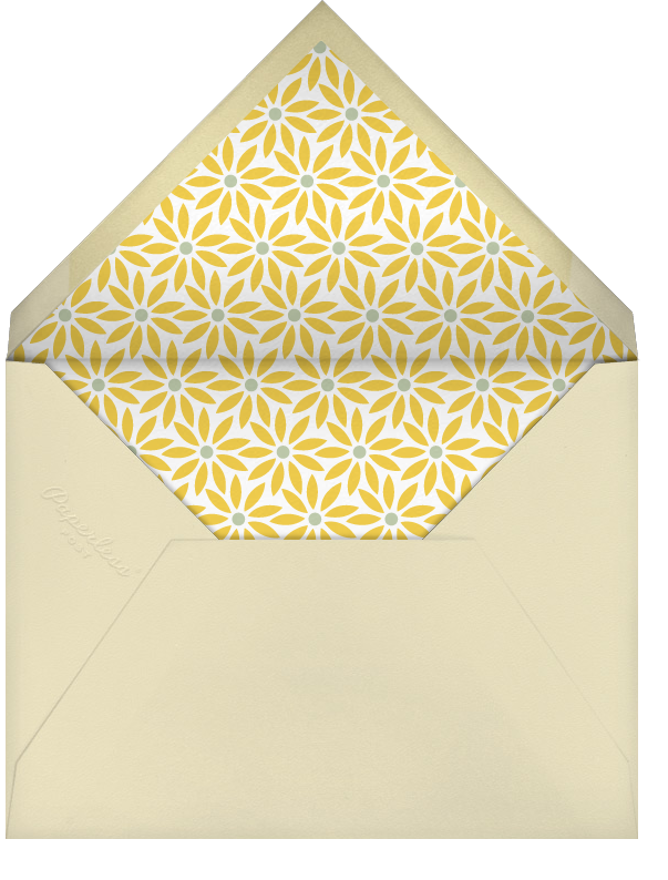 Bumble Bees - Paperless Post - Baby shower - envelope back