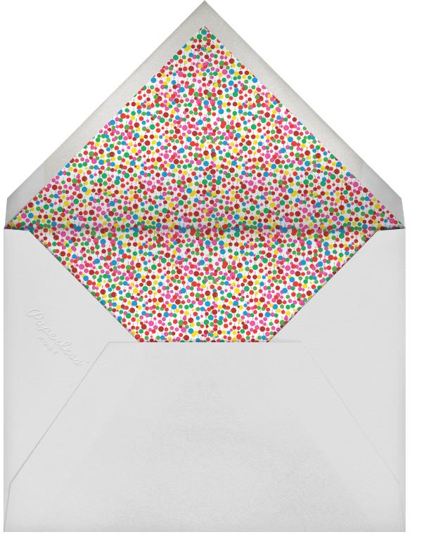 Bubbly for the Engaged - Pinks - Mr. Boddington's Studio - Baby shower - envelope back