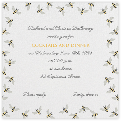 Bumble Bees - Paperless Post - Invitations for Entertaining