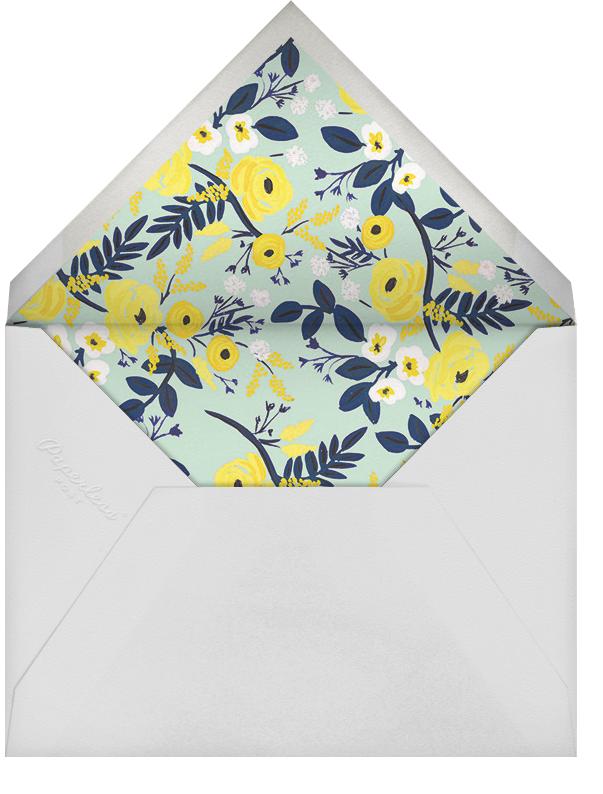 Marigold Mosaic - Rifle Paper Co. - Birth - envelope back