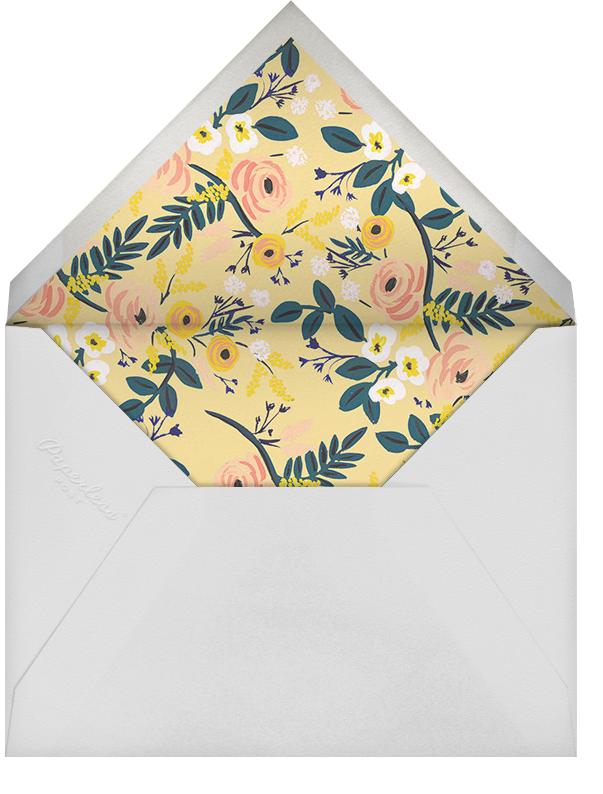 September Violets (Photo) - Rifle Paper Co. - Birth - envelope back