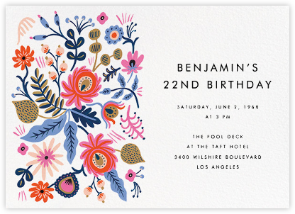 Spring Folk - Rifle Paper Co. - Rifle Paper Co. Invitations