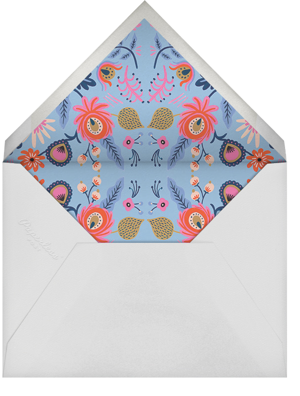 Spring Folk - Rifle Paper Co. - Adult birthday - envelope back