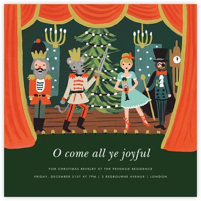 The Nutcracker Suite (Invitation) - Rifle Paper Co. - Christmas invitations