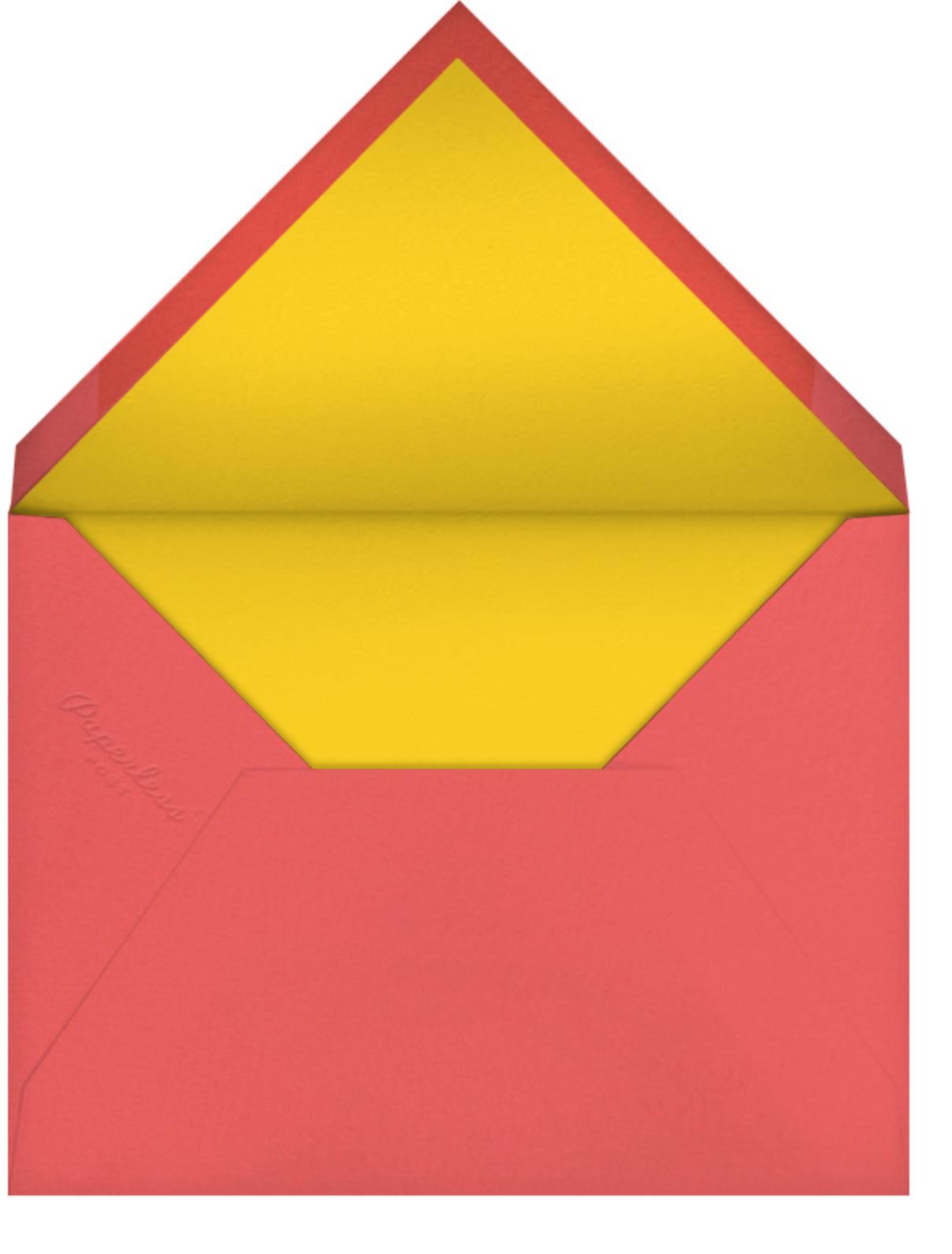 Bird Balloon (Invitation) - Pink - Petit Collage - Envelope